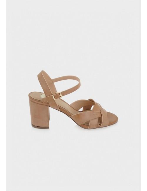 Γυναικείο παπούτσι EXE M47002674775 δέρμα NUDE